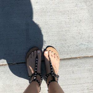 Dolce vita by Vanessa Mooney studded sandals